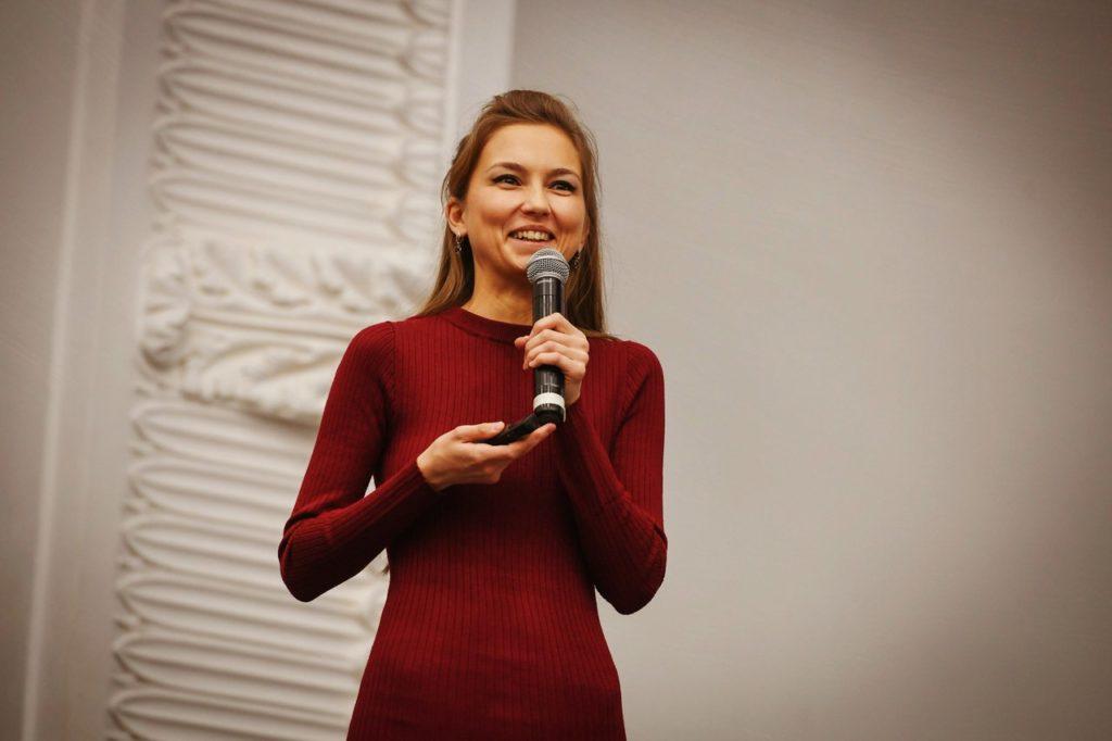 Алиса Сафина на Фабрике предпринимательства